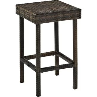 crosley-24-bar-stool-set-of-2-black Best Wicker Bar Stools