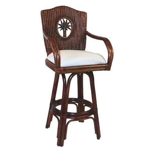hospitality-rattan-lucaya-swivel-bar-stool-30 Best Wicker Bar Stools