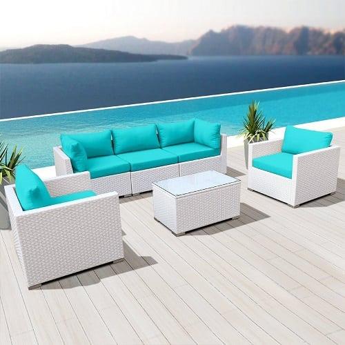 modenzi-white-wicker-sofa-set Best White Wicker Furniture