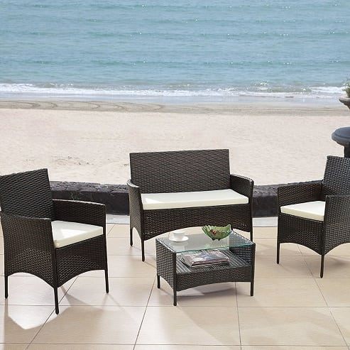 modern-outdoor-wicker-garden-patio-furniture-set Best Outdoor Wicker Patio Furniture