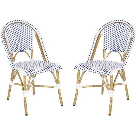 safavieh-home-collection-blue-and-white-stacking-side-chair Best White Wicker Furniture
