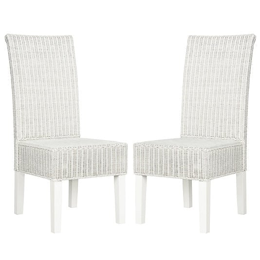 White Wicker Chairs 1 Best White Wicker Furniture