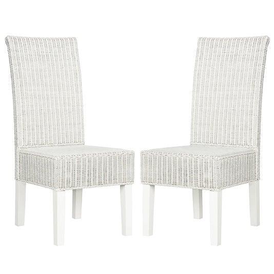white wicker chair. White Wicker Chairs Chair M