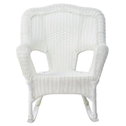 best white wicker furniture beachfront decor. Black Bedroom Furniture Sets. Home Design Ideas