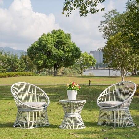 wicker-white-seating-furniture-set Best White Wicker Furniture