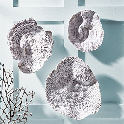 coral-velvet-wall-sculptures Beautiful Coral Decor