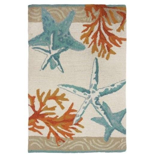 starfish-coral-rug Beautiful Coral Decor