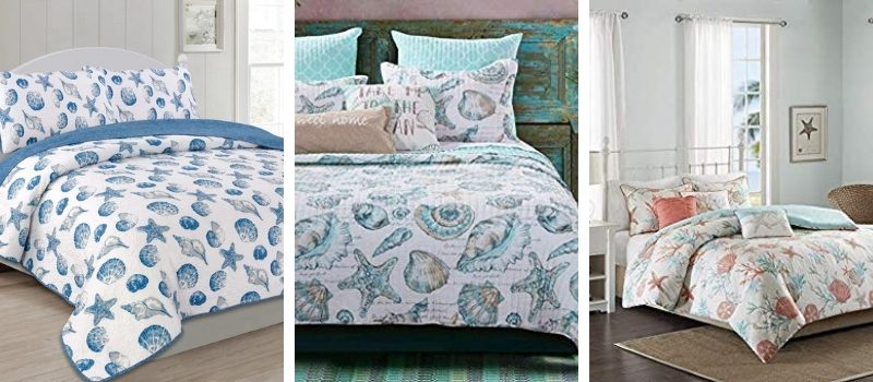 Seashell Bedding and Comforter Sets