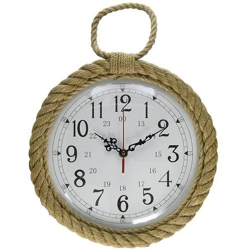 dennis-east-natural-rope-mirror-12 Nautical Clocks