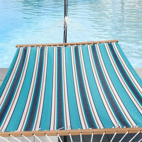 lazy-daze-hammocks-token-surfside-blue Best Rope Hammocks