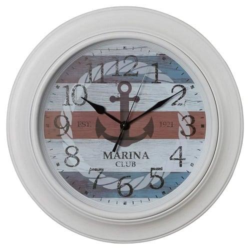 nautical-anchor-wall-clock-18 Nautical Clocks