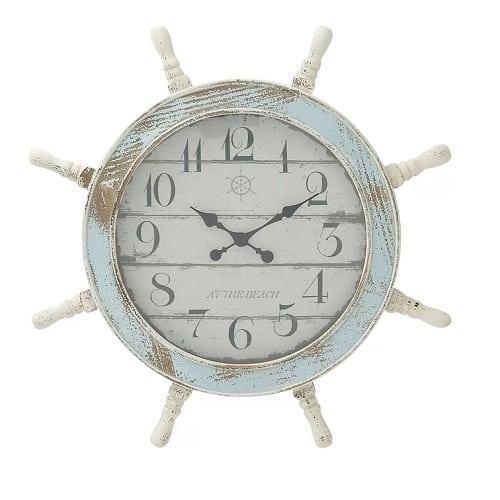 sargentville-distressed-nautical-clock-28 Nautical Clocks
