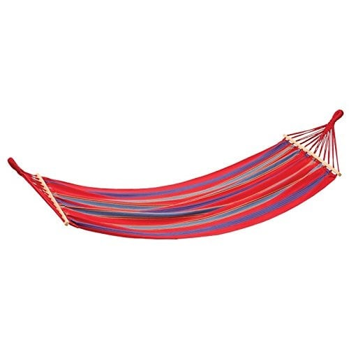 stansport-burgundy-fabric-hammock Best Rope Hammocks