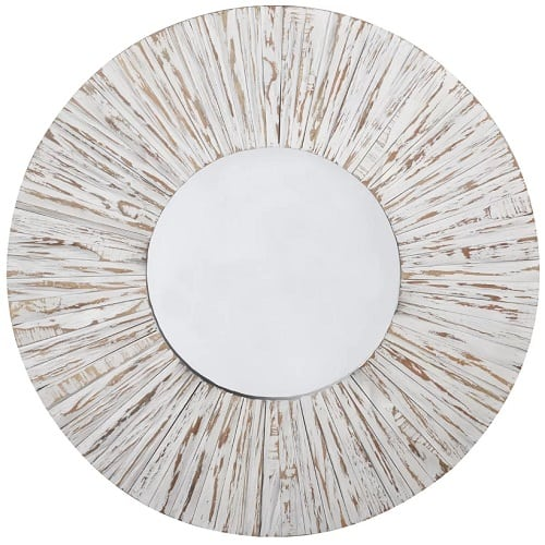 yetter-coastal-round-mirror Coastal Mirrors and Beach Themed Mirrors