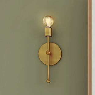 bautista-1-light-wallchiere Beach Wall Sconces & Nautical Wall Sconces