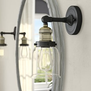 carley-heavy-duty-1-light-armed-sconce Beach Wall Sconces & Nautical Wall Sconces