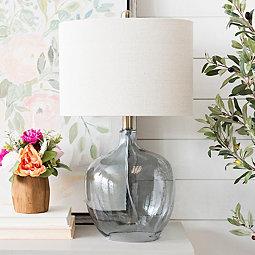 coastal-glass-lamp 100+ Coastal Themed Lamps