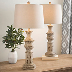 coastal-table-lamps 100+ Coastal Themed Lamps