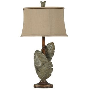 frankfield-palm-leaves-335-table-lamp Palm Tree Lamps
