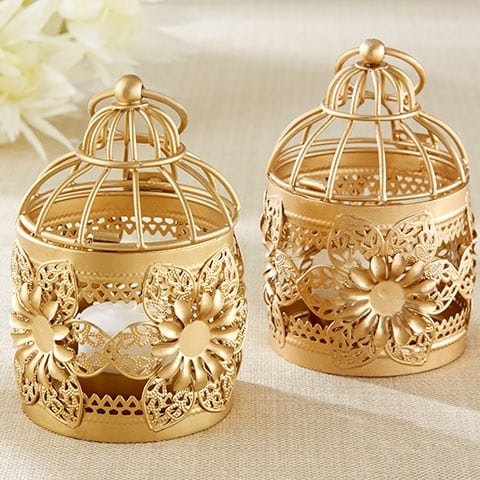 gold-beach-wedding-lantern Nautical Lanterns and Beach Lanterns