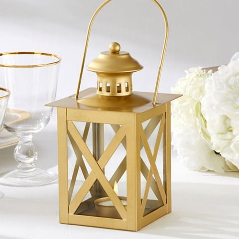 gold-wedding-lantern Nautical Lanterns and Beach Lanterns