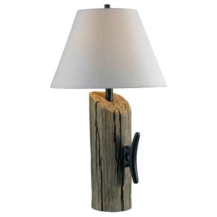 kenroy-home-wood-table-lamp Nautical Themed Lamps