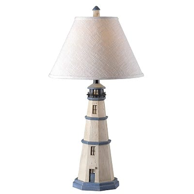 lighthouse-table-lamp Nautical Themed Lamps