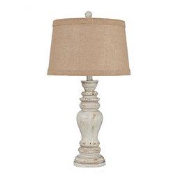 rustic-coastal-lamp 100+ Coastal Themed Lamps