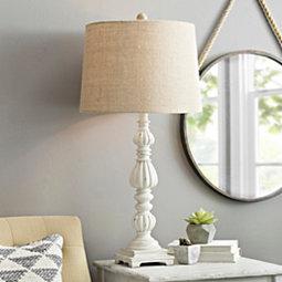 white-beach-coastal-lamp 100+ Coastal Themed Lamps