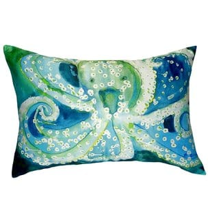 aneira-octopus-indooroutdoor-lumbar-pillow Nautical Pillows and Nautical Throw Pillows