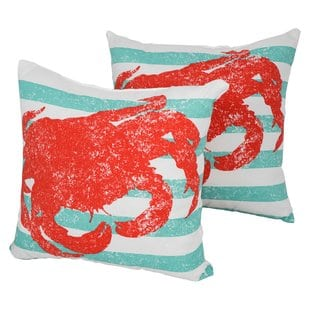 designer-outdoor-throw-pillow-set-of-2 Nautical Pillows and Nautical Throw Pillows
