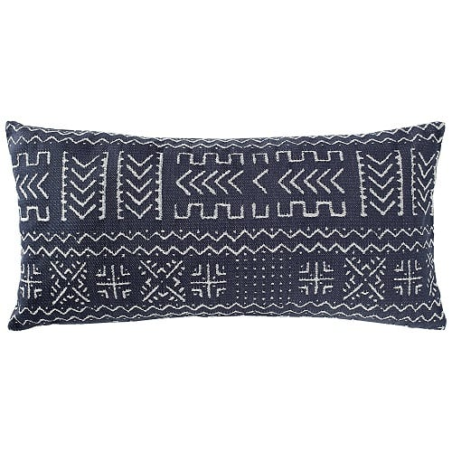 rivet-mudcloth-inspired-nautical-pillow Nautical Pillows and Nautical Throw Pillows