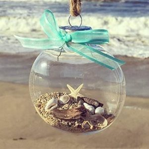 Beach Christmas Ornaments and Coastal Christmas Ornaments