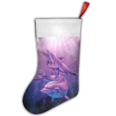 dolphin-christmas-stocking Beach Christmas Stockings
