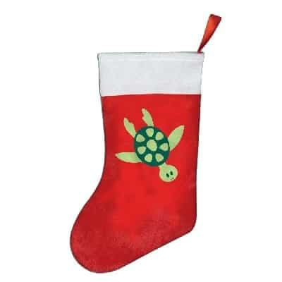 turtle-christmas-stocking Beach Christmas Stockings