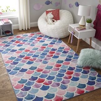 Mermaid Area Rugs