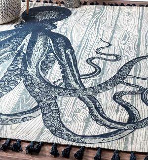 Octopus Area Rugs
