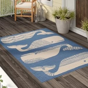 Whale Area Rugs