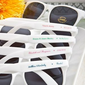 Sunglasses Wedding Favors
