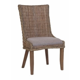 southchase-wicker-woven-dining-chair-set-of-2 Wicker Chairs