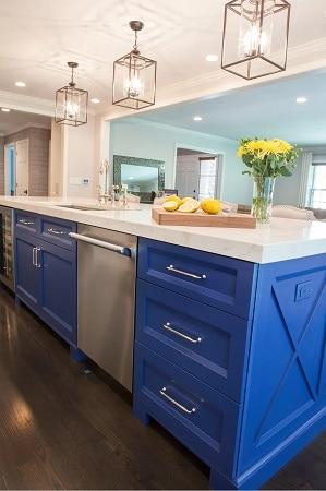 Coastal-Kitchen-by-Monika-Ross-Design-LLC Beach Kitchen Decor and Coastal Kitchen Decor