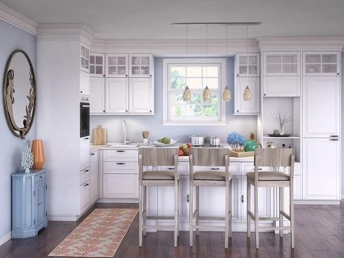 Coastal-Kitchen-by-Wayfair Beach Kitchen Decor and Coastal Kitchen Decor