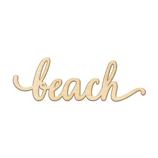 unfinished-beach-sign 100+ Wooden Beach Signs and Wooden Coastal Signs