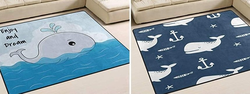 whale rugs