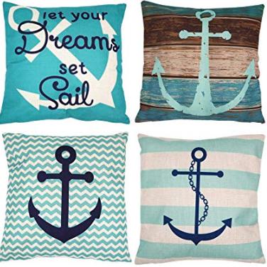 Nautical Throw Pillows