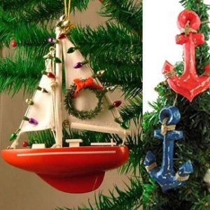 Nautical Christmas Decor