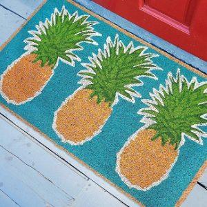 Pineapple Doormats and Pineapple Floor Mats