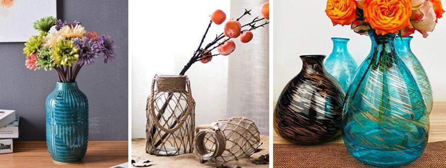 beach vases coastal vases