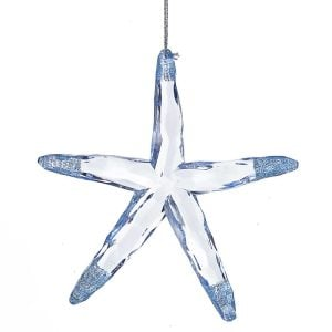 Acryic+Starfish+Hanging+Figurine+Ornament