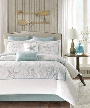 Harbor House 4 Piece Maya Bay Comforter Set King White 0 300x360